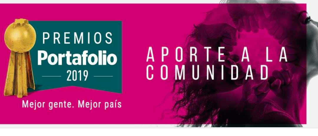 ¡Enhorabuena! Somos finalistas de los premios Portafolio 2019