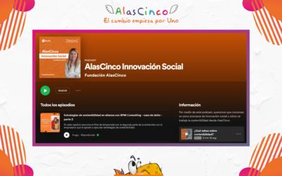 La iniciativa detrás del podcast de AlasCinco.